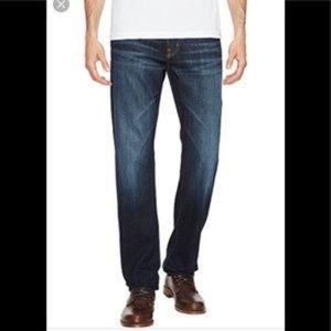AG Graduate 36/27.5 Tailored Leg jean dark wash